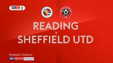 Reading 0-2 Sheffield Utd