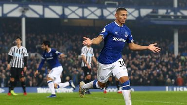 Everton 1-1 Newcastle