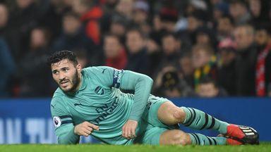 Kolasinac: Emery helped with mistake