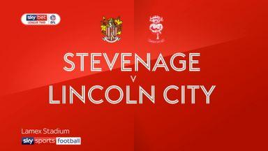Stevenage 0-1 Lincoln