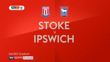 Stoke 2-0 Ipswich