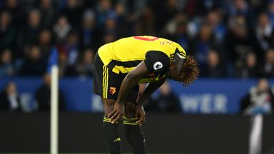 'Watford missed chance after chance'