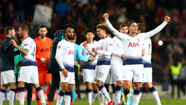 'One of the great nights for Spurs'