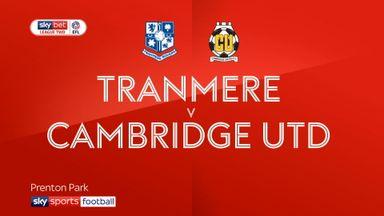 Tranmere 1-0 Cambridge