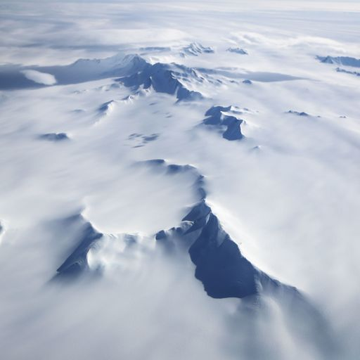 Global warming behind increased snow in Antarctica
