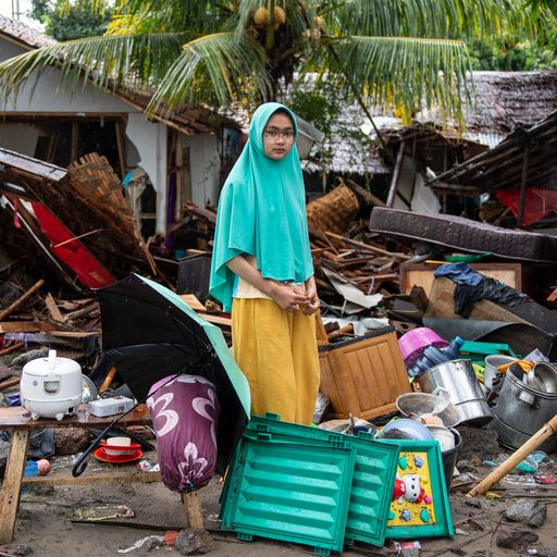 Tales of resilience and hope after Indonesia tsunami
