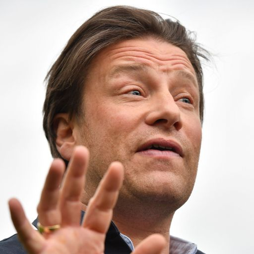 Jamie Oliver attacks government's obesity strategy