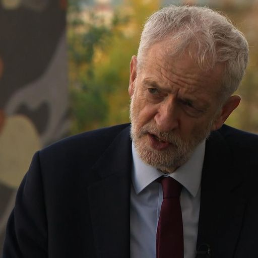 Corbyn 'ready to step in' as he looks to win over DUP