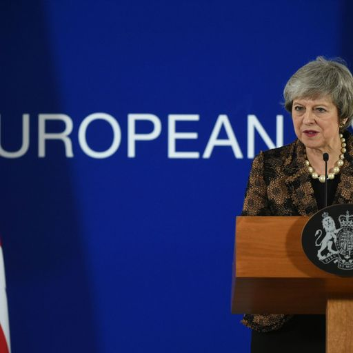 May returns from summit to talk of second referendum