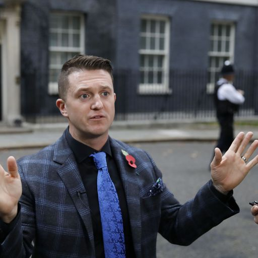 Tommy Robinson: I don't care if I incite fear of Muslims