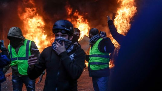 Paris riots show difficulty of fighting warming with taxes