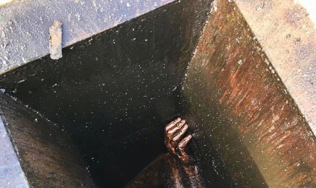 Man trapped in grease vent of empty restaurant for two days