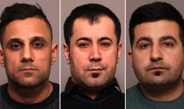 Three men jailed for life after five died in Leicester shop explosion