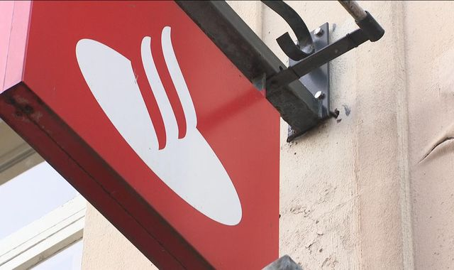 'Difficult decisions' as Santander shuts 140 branches in the UK