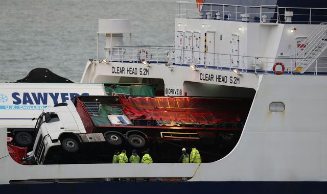 Urgent safety warning after toppled lorries crush cars on ferry