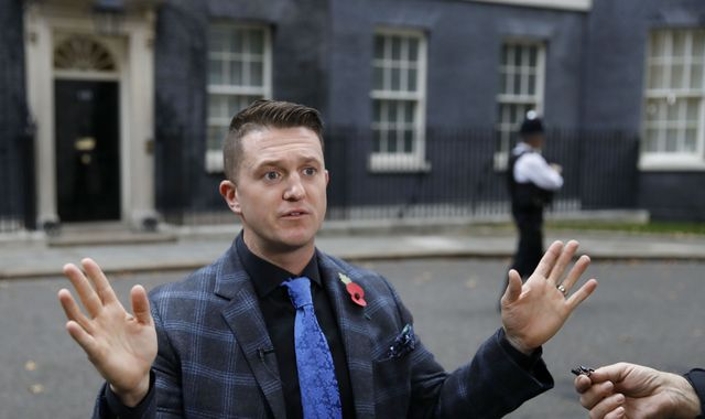 Tommy Robinson: YouTube removes ads from far-right activist's videos