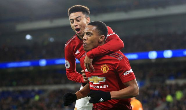 Anthony Martial and Jesse Lingard out for two-three weeks, says Ole Gunnar Solskjaer