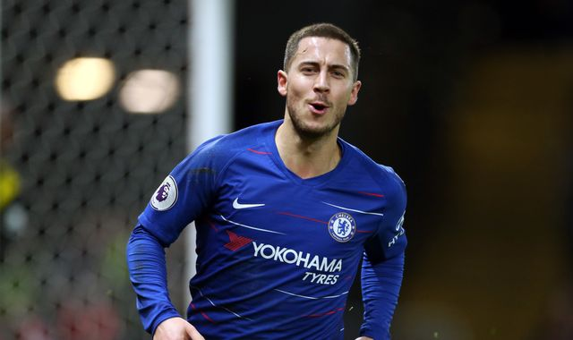 Chelsea's Eden Hazard hints at potential Real Madrid move