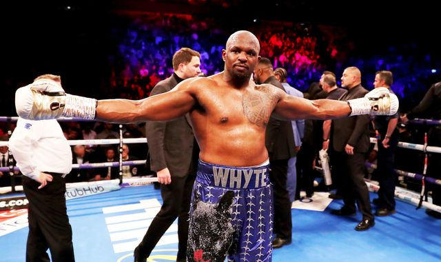 Whyte vs Rivas: Dillian Whyte's world class qualities are debated by panel of experts