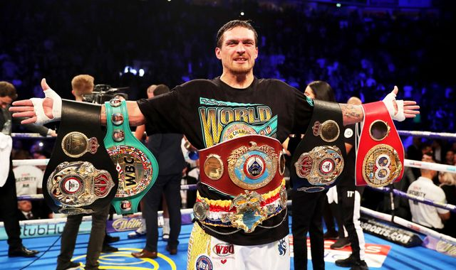 Oleksandr Usyk 'should become' Anthony Joshua's WBO mandatory challenger if he moves to heavyweight