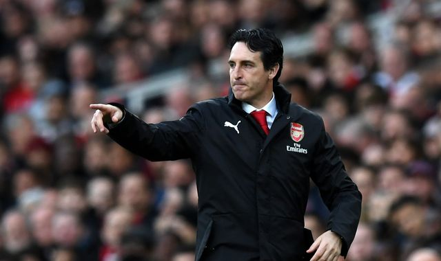 Unai Emery happy with Arsenal winning record but wants to 'win something important'