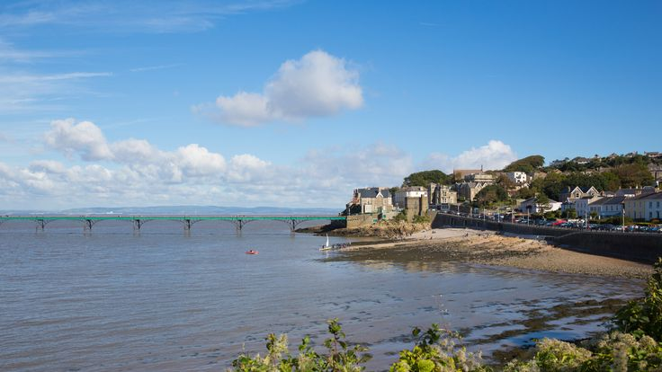 The sunken ship is located off the Clevedon coast in the Bristol Channel