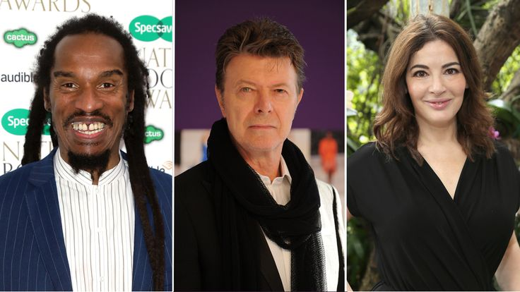 Benjamin Zephaniah, David Bowie and Nigella Lawson all turned down accolades
