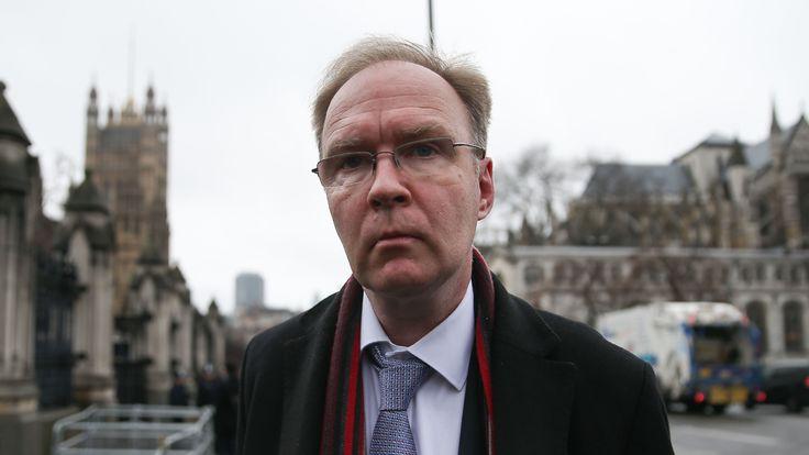 Ivan Rogers, Britain's former ambassador to the EU