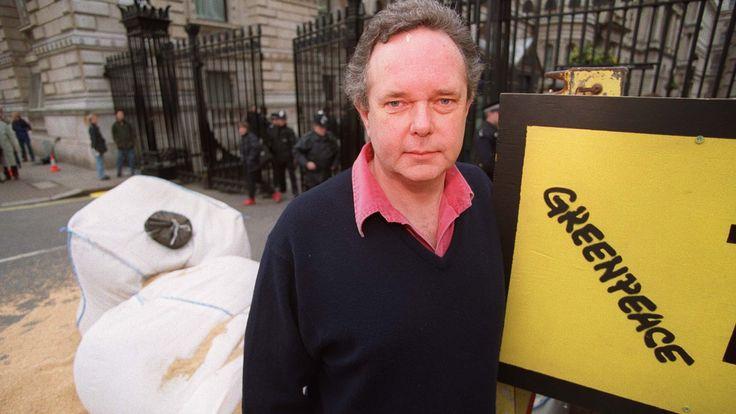 Peter Melchett, Executive Director of the environmental organisation Greenpeace on 10 July 1995