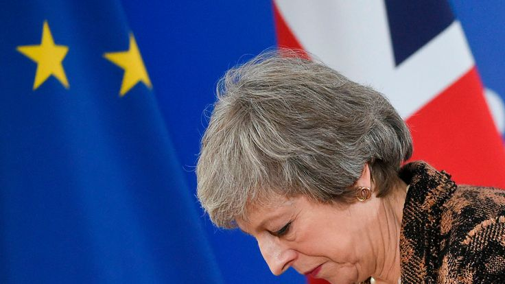 It has been another difficult week of Brexit tension for Theresa May
