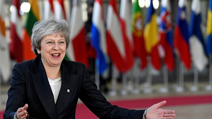 Theresa May endured another tough day at the EU leaders' summit after winning a confidence vote
