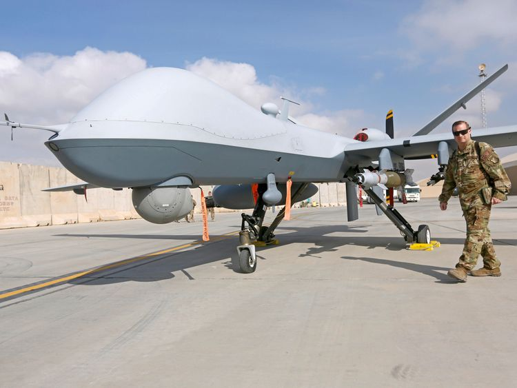 A US drone strike killed Manan in Helmand province