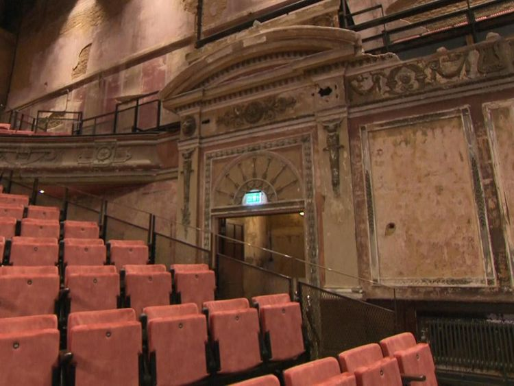 The Alexandra Palace theatre has undergone a 'sensitive restoration'