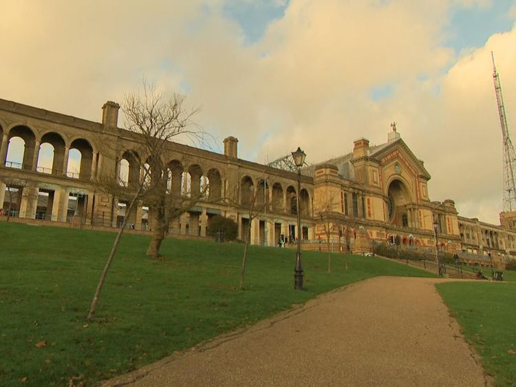 Alexandra Palace's makeover has been partially lottery-funded