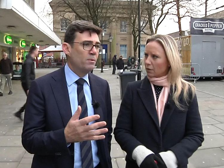 Andy Burnham has pledged to provide shelter for rough sleepers in Manchester every night this winter