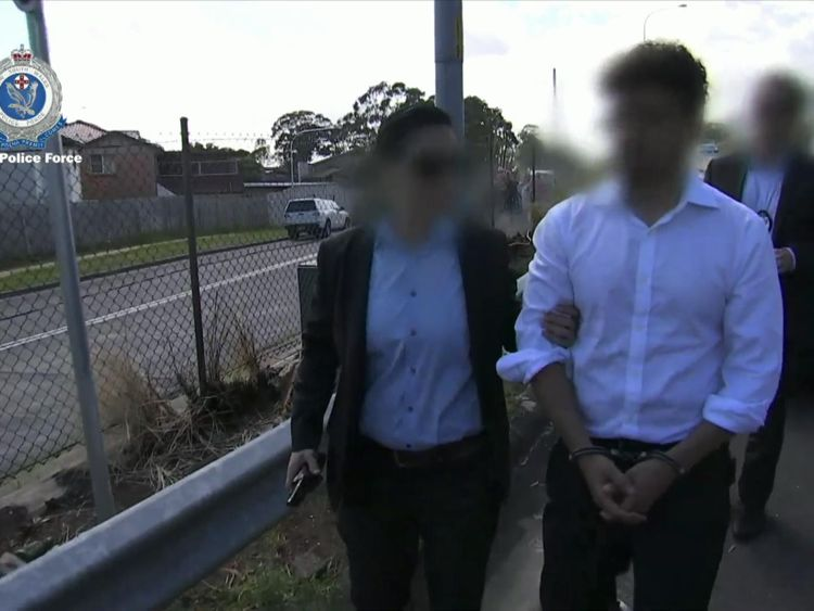 Arsalan Khawaja was arrested in Sydney and charged with forgery and attempting to pervert justice