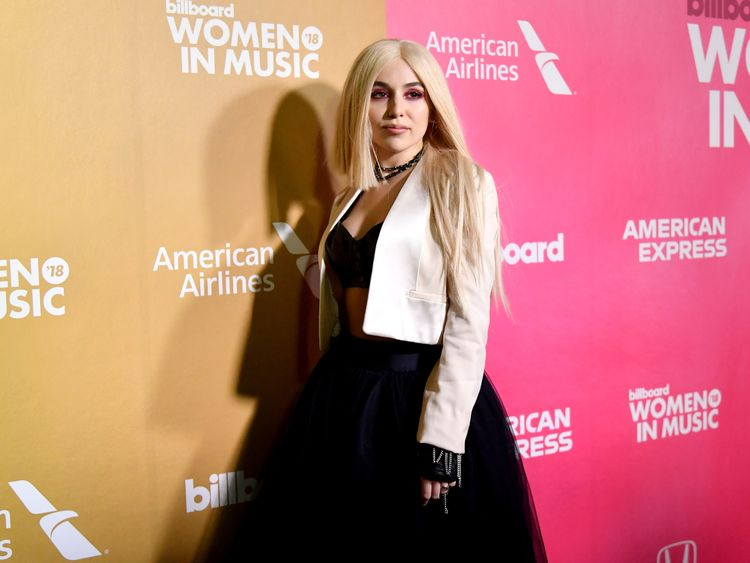 Ava Max attends Billboard Women In Music 2018 on December 6, 2018 in New York City.