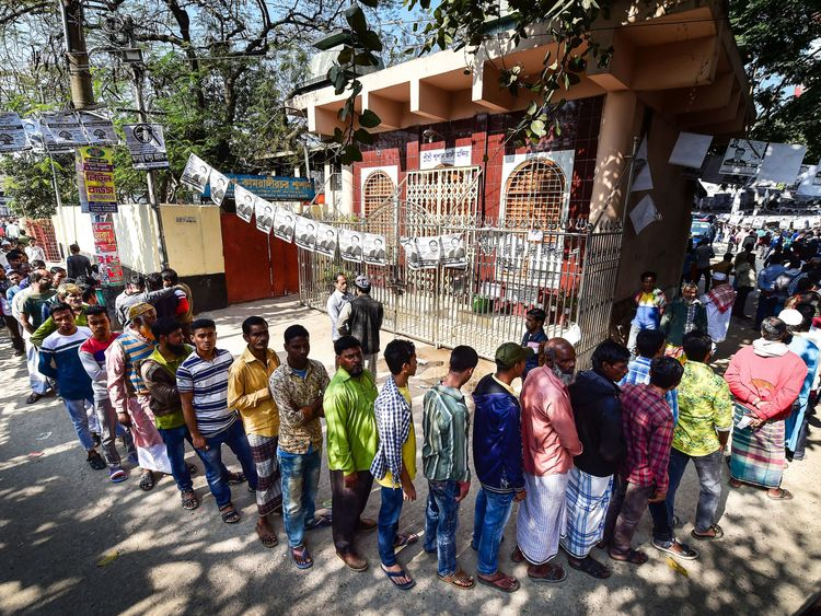 Bangladesh voters
