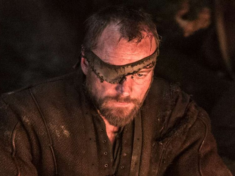 Beric Dondarrion, played by Richard Dormer.Pic: HBO