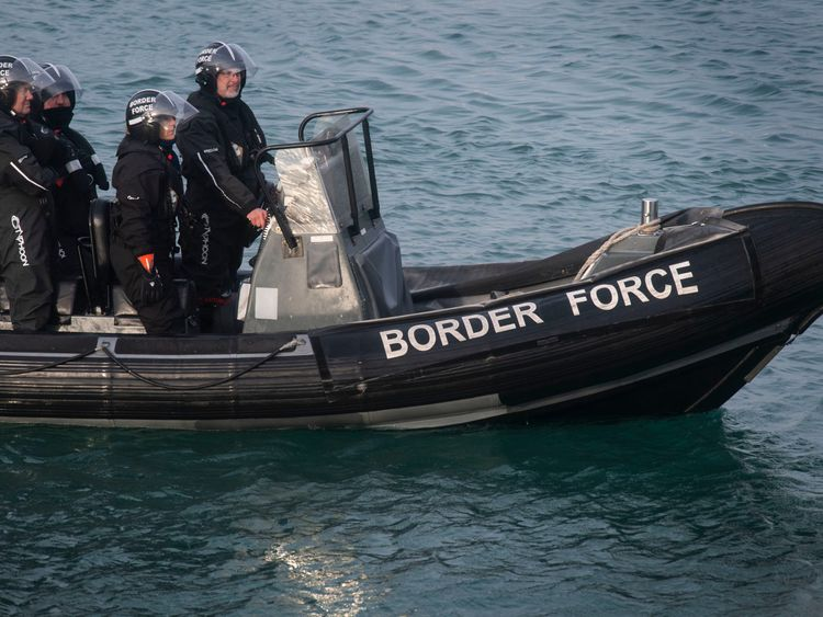Sajid Javid will meet with officials from the Border Force later today