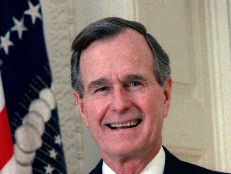 George H W Bush has died