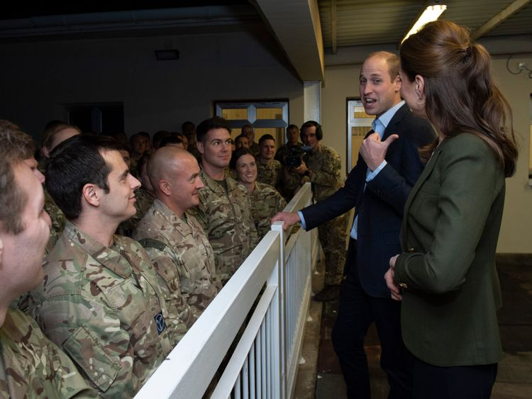 The Duke and Duchess of Cambridge hope to highlight the contribution and sacrifices personnel and their families.