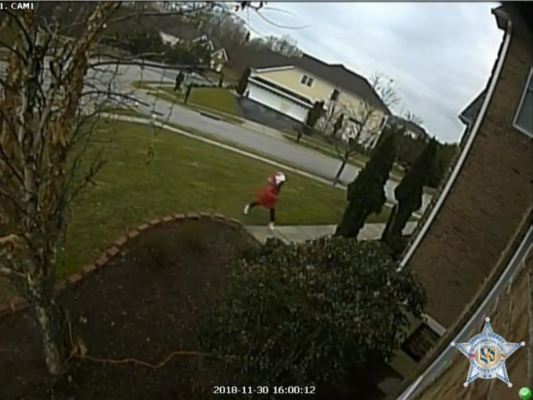 Young girl instructed to steal packages from doorstep