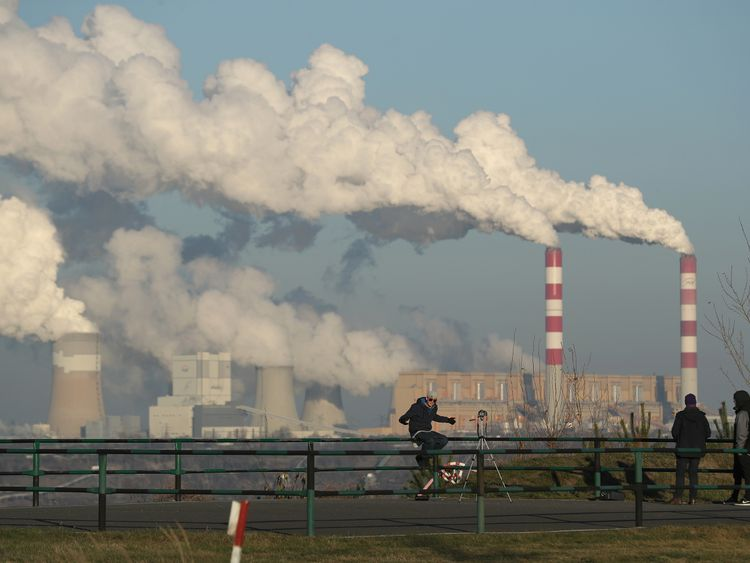 Poland still gets the majority of its energy from coal