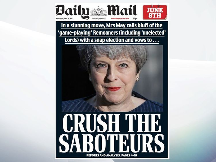 The Daily Mail took a strong line in favour of Brexit under Paul Dacre