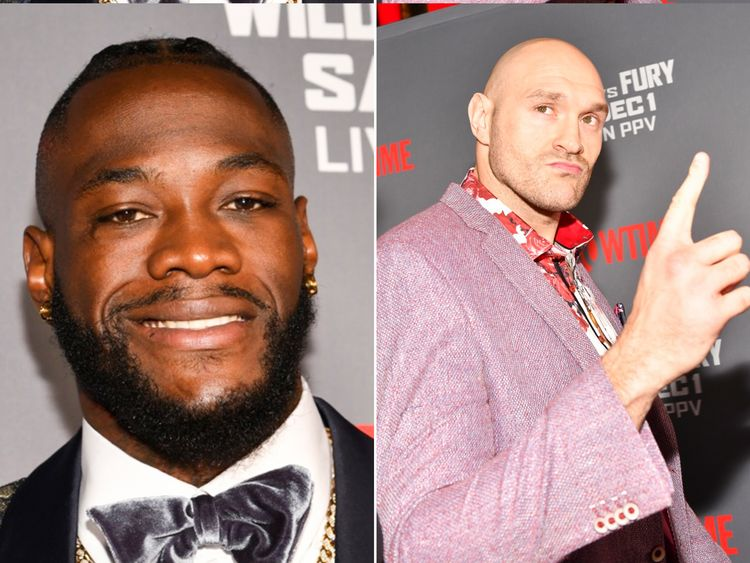 Deontay Wilder and Tyson Fury went head-to-head