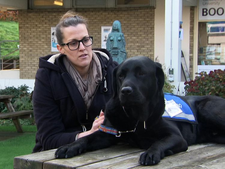 Dr Liz Spruin has said Oliver provides 'unconditional support' to victims