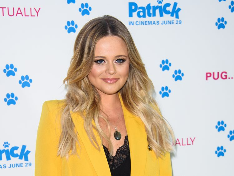 Emily Atack from The Inbetweeners was runner up