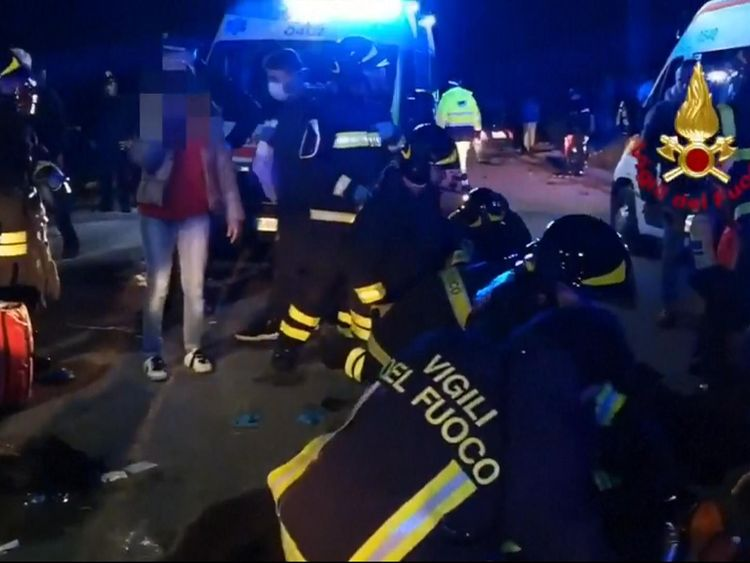 Six dead and 50 injured in nightclub stampede