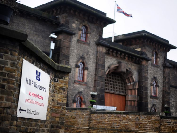 Acourt is in Wandsworth prison serving a nine-year sentence
